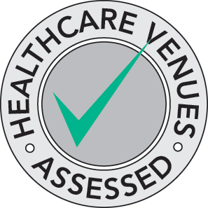 Healthcare Venues Green Stamp