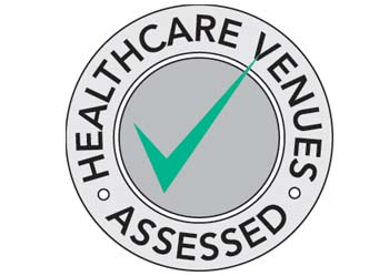 Healthcare Venues Badge