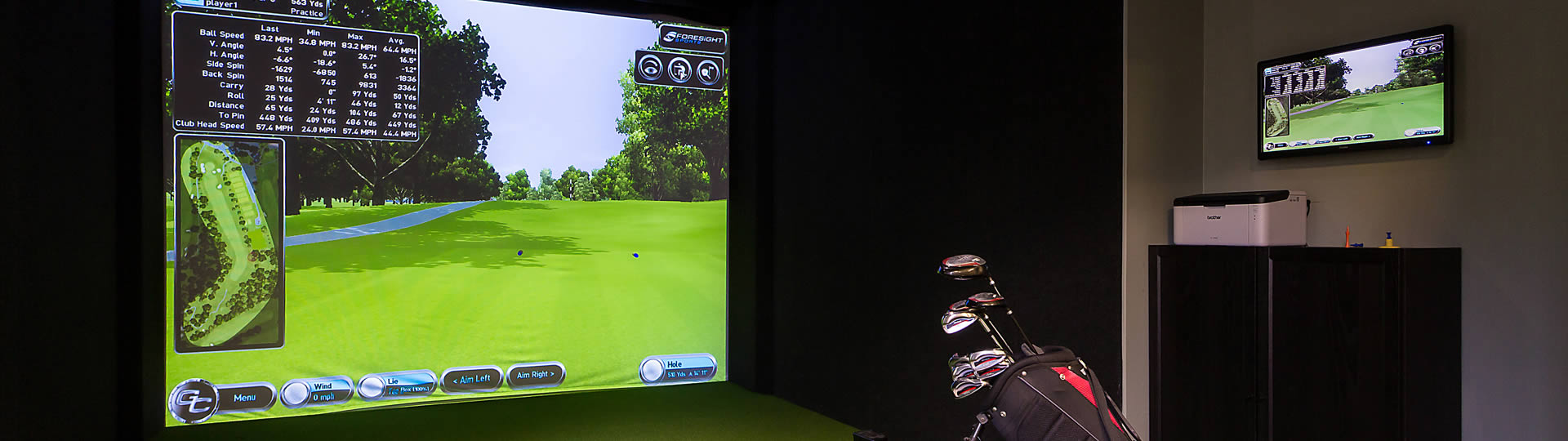 Virtual Golf - Lane End Conference Centre