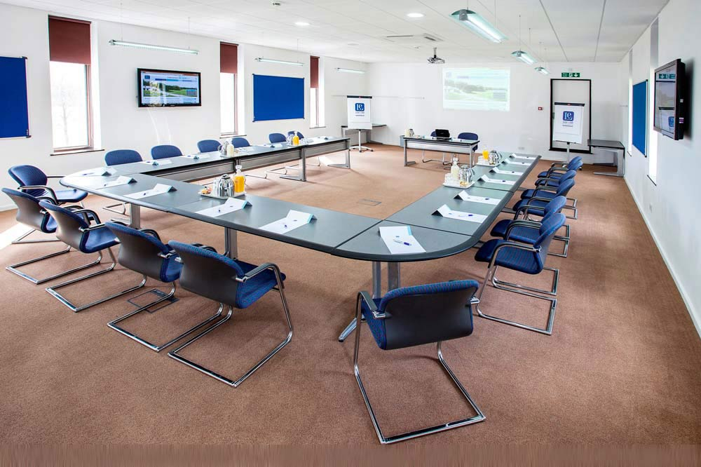 Lodge Conference Room 1 - max 40 boardroom