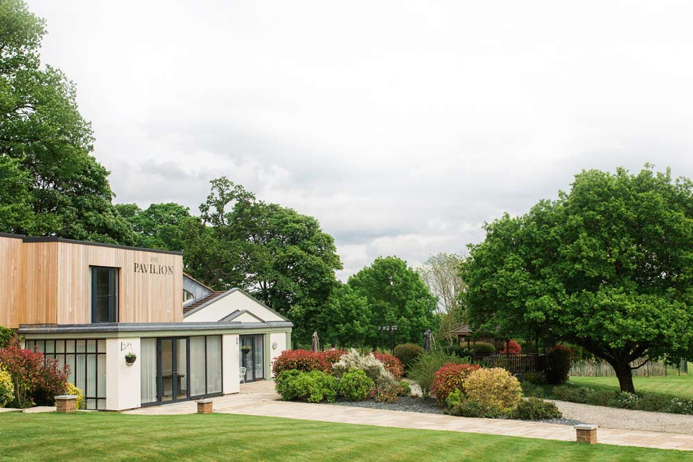 The Pavilion Entrance | Lane End Conference Centre
