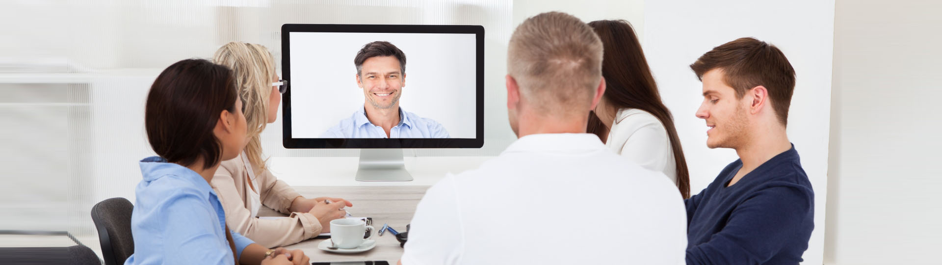 Video Conference at Lane End Conference Facilities