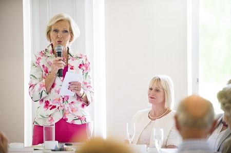 Mary Berry Speaks At National Osteoporosis Event