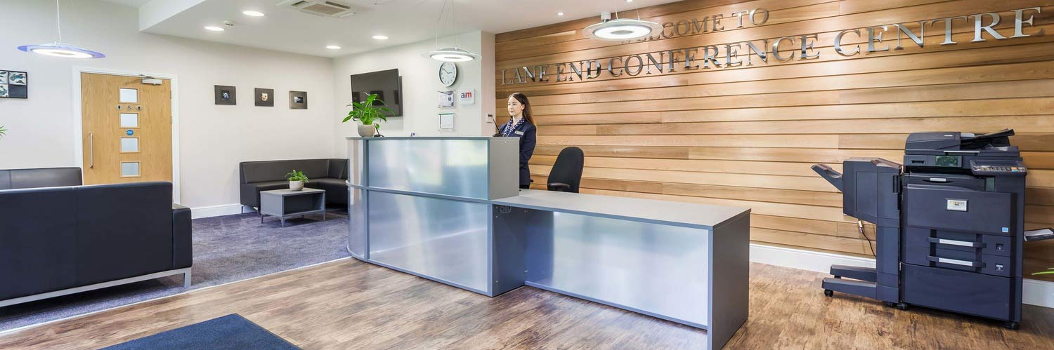Lane End Conference Centre Reception